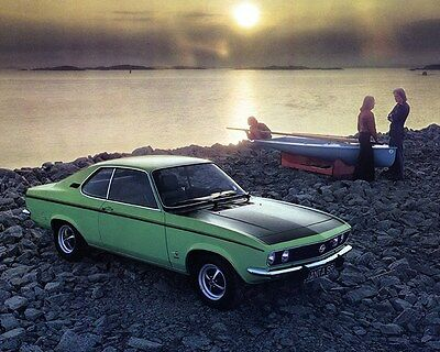 1974 Opel Manta SR Factory Photo ca6999