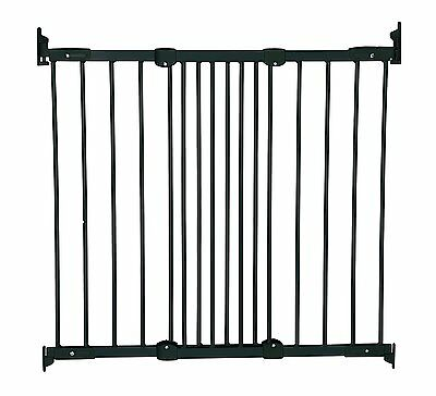 NEW Baby Dan Flexi Fit Metal Stair / Door Gate - Black