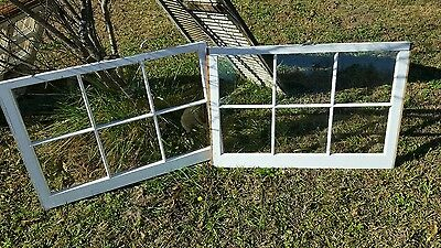 VINTAGE SASH ANTIQUE WOOD WINDOW UNIQUE FRAME PINTEREST WEDDING 36x24 SET OF 2