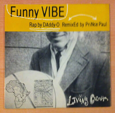 "LIVING COLOUR   "" Funny Vibe "" - Vinyl Ep 12"" -  Epic  ‎ 49 73107  - 1988 US"