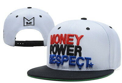 TMT Floyd Mayweather SnapBack Cap Money Power Respect Headwear