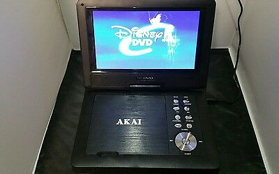 "Akai 7"" Portable DVD player with DVB-T TV Tuner  A51003N"