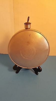 Antique 1915 US World War I (WWI) PALCO Aluminum Canteen for Export to Allies