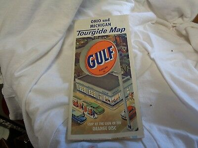 Gulf tourguide map Ohio & Michigan