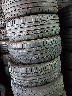 x4 225/40/18 continental contact sport 5 tyres
