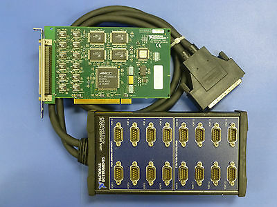 National Instruments NI PCI-232/16 Interface Card with Adapter, 16-Port RS-232