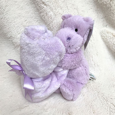 Jellycat Hippo Plush Toy & Soother Blanket