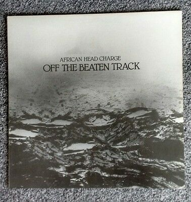 AFRICAN HEAD CHARGE - OFF THE BEATEN TRACK - vinyl LP.