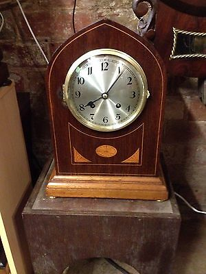 Lancet cased TING TANG Bracket clock