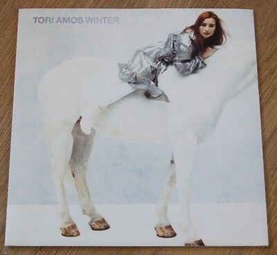 "TORI AMOS WINTER EX A7504 1992 UK 7"" VINYL SINGLE Picture sleeve Rare"