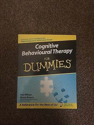 Cognitive Behavioural Therapy For Dummies by Rhena Branch, Rob Willson...