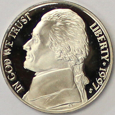 1997 S Jefferson Nickel Gem Deep Cameo Proof Coin