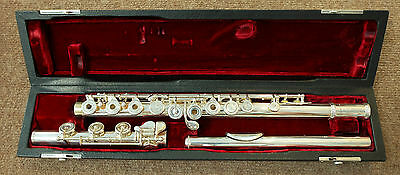 Amadeus by Haynes AF800 Flute-USED-Open hole, B foot, Offset G, Silver headjoint