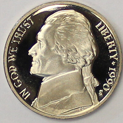 1999 S Jefferson Nickel Gem Deep Cameo Proof Coin