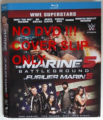 No Discs !! Marine 5 Blu-Ray Cover Slip Only - No Discs !!            (Inv13605)