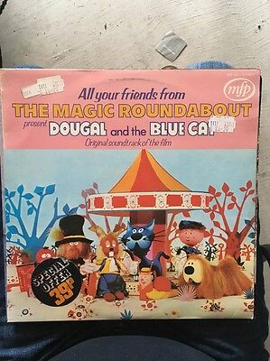 **Dougal And The Blue Cat**1972~OST LP~33rpm~Magic Roundabout (VG/NM)