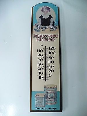 Vintage Maxwell House Thermometer