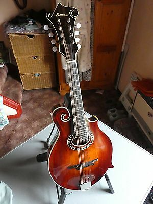 Eastman MD614 Electro Acoustic F Style Mandolin with Fitted Case