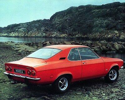 1974 Opel Manta Factory Photo ca7000