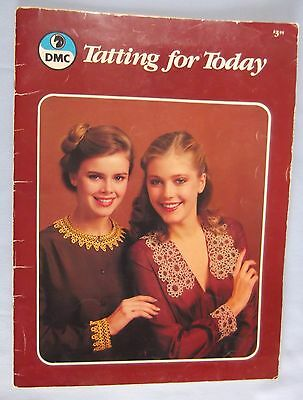 1980 Vintage Book Tatting For Today by DMC - 27 Pages