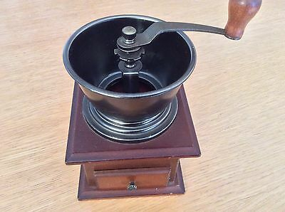 Hand Coffee Grinder - wooden with metal grinding mechanism