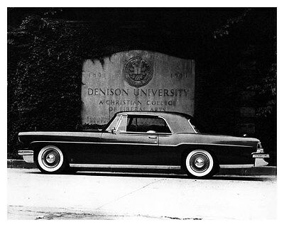 1956 Lincoln Continental Mark II Factory Photo ub5274