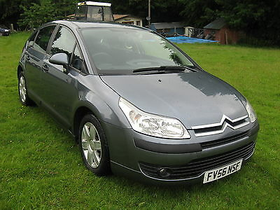 CITROEN C4 1.6 16v SX AUTOMATIC 2007 model