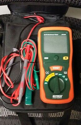 Extech Ground Resistance Meters 382252 Earth Ground Resistance Tester Kit