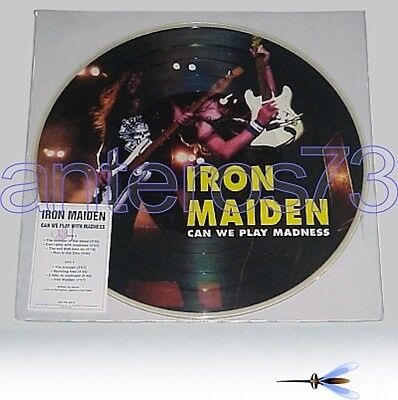 "Iron Maiden ""can We Play Madness"" Rare Pdk Italy 1994"