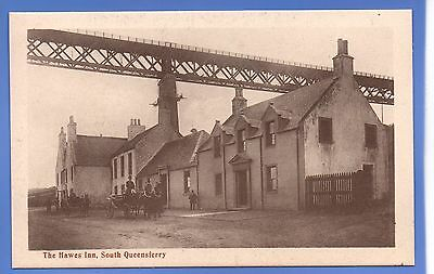 SUPER RARE 1912c HAWES INN SOUTH QUEENSFERRY WEST LOTHIAN VINTAGE POSTCARD
