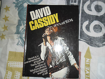 DAVID CASSIDY 1974 pop music annual vintage 1970s