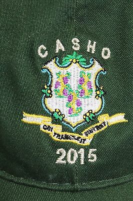 CT. Assn of Street and Highway Officials 2015 hat GREEN