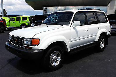 1997 Toyota Land Cruiser 4X4 Fresh $3k service, ice cold a/c,great driving/running,power antenna even works!