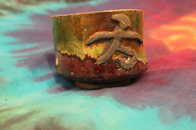 Raku Bowl! Pottery, Fine Art, Japanese, Firing, Rain Dancer, Glazes