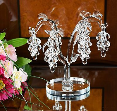 Crystal Clear Grapes Tree Grape Tree Home Decor Wedding Birthday Gift & GiftBox