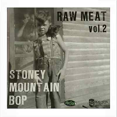 Va. Raw Meat Vol 2 - Rare Primitive Rockabilly  Red Vinyl 10""