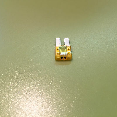 20A Micro  Two Blade Fuse Micro2 12V 24V  20 Amp 99¢ Flat Rate Shipping