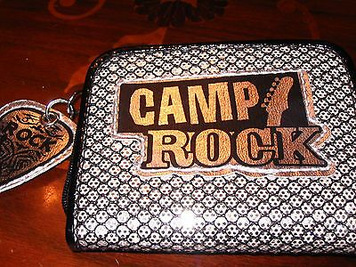 Disney Store Camp Rock Silver & Black Guitar Purse BRAND NEW VERY RARE