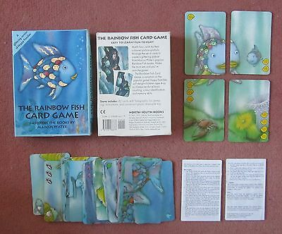 Rainbow fish card game based on books by Marcus Pfister $3 postage, see below