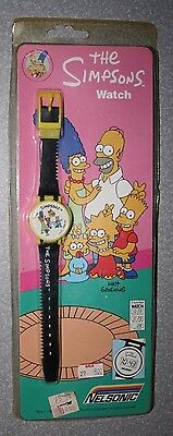 The Simpsons Nelsonic Watch Bart 1990 New