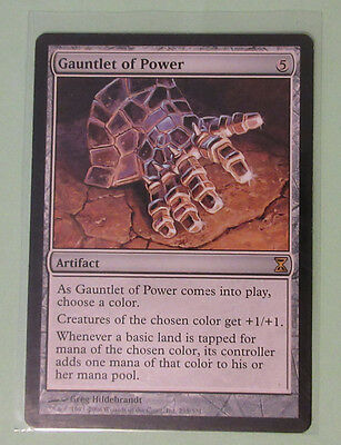 MtG Magic the Gathering TCG 1X Gauntlet of Power **NM- Condition**