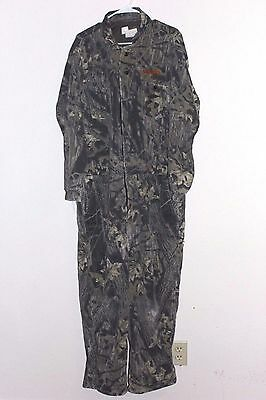 Scent Lok Coveralls Odor-Eliminating Full Body Camo Tree Suit Size XL Style 2122