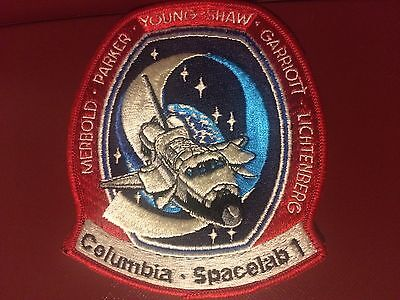 ORIGINAL LION BROS STS-9 Columbia NASA SPACE SHUTTLE Mission PATCH