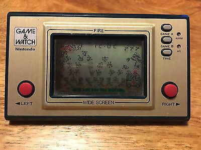 Game And Watch Nintendo Fire FR-27 Rare