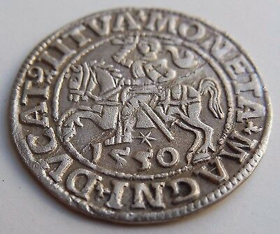 Medieval Silver Coin 1550 AD KEY Date! RARE And Superb Coin!
