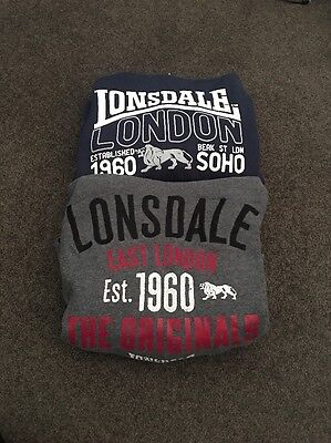 Lonsdale Boys Jumpers X 2 Size 10 Size 12