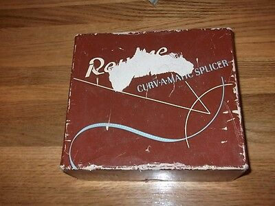 Vintage Revere Curvamatic Film Splicer.  8/16 Mm