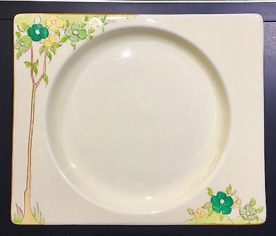 "Early ""The Biarritz""..signed Clarice Cliff .. Hand painted Plate"