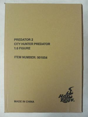 HOT TOYS PREDATOR 2 City Hunter ~ MIB Sideshow 1/6 Figure SIDESHOW AVP Aliens