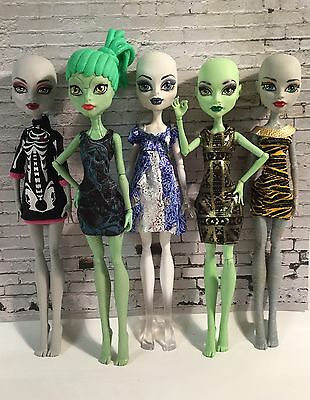 Monster High Doll Loose Mixed Dolls For Ooak Or Play